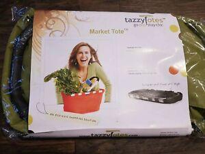Tazzy Totes Folding Market Tote Eco Friendly