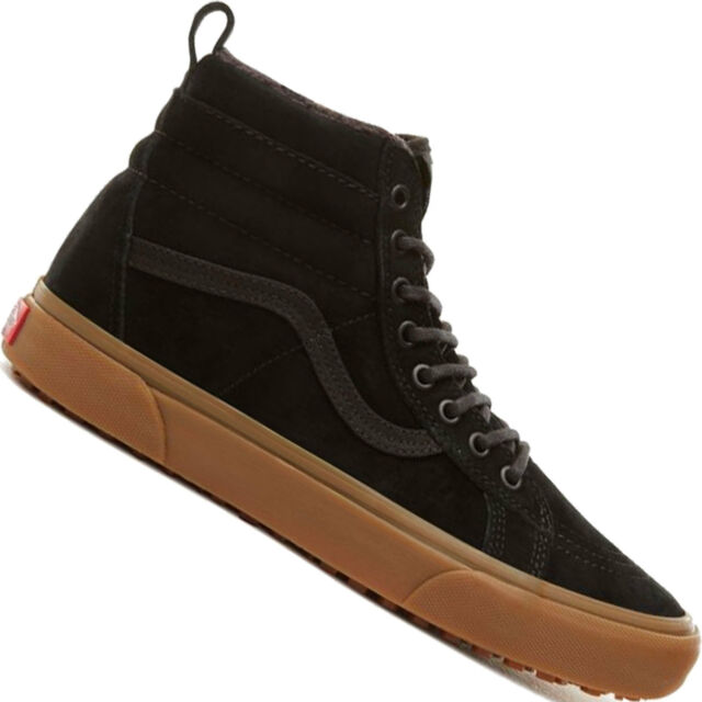 b475fd3a05 VANS Sk8-hi MTE Skate Shoes UK 10 Black for sale online