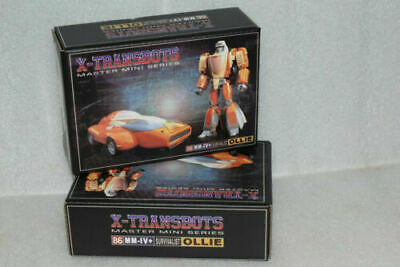 OLLIE G1 Wheelie Action figure NEW Transformers toy X-Transbots MM-IV