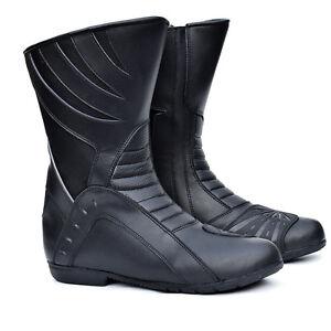 PROANTI-Motorradstiefel-Motorradschuhe-Motorrad-Chopper-Schuhe-Roller-Stiefel