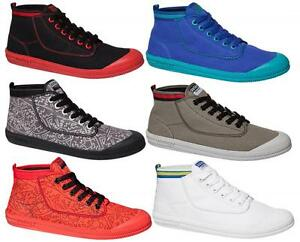 DUNLOP-VOLLEY-HIGH-LEAP-MENS-CASUAL-SNEAKERS-CANVAS-LACE-UP-HI-TOP-SNEAKERS