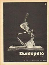 Publicité  --  matelas  DUNLOPILLO