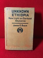 Africa ETHIOPIA & ABYSSINIA James Baum African Big Game Hunting Ras Tafari