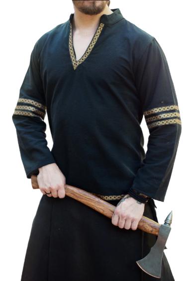 Medieval Celtic Viking Tunic Full Sleeves renaissance shirt SCA,