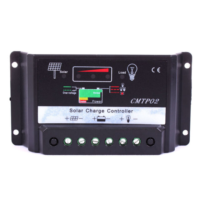30A MPPT Solar Panel Battery Regulator Charge Controller 12V/24V Auto Switch KJ