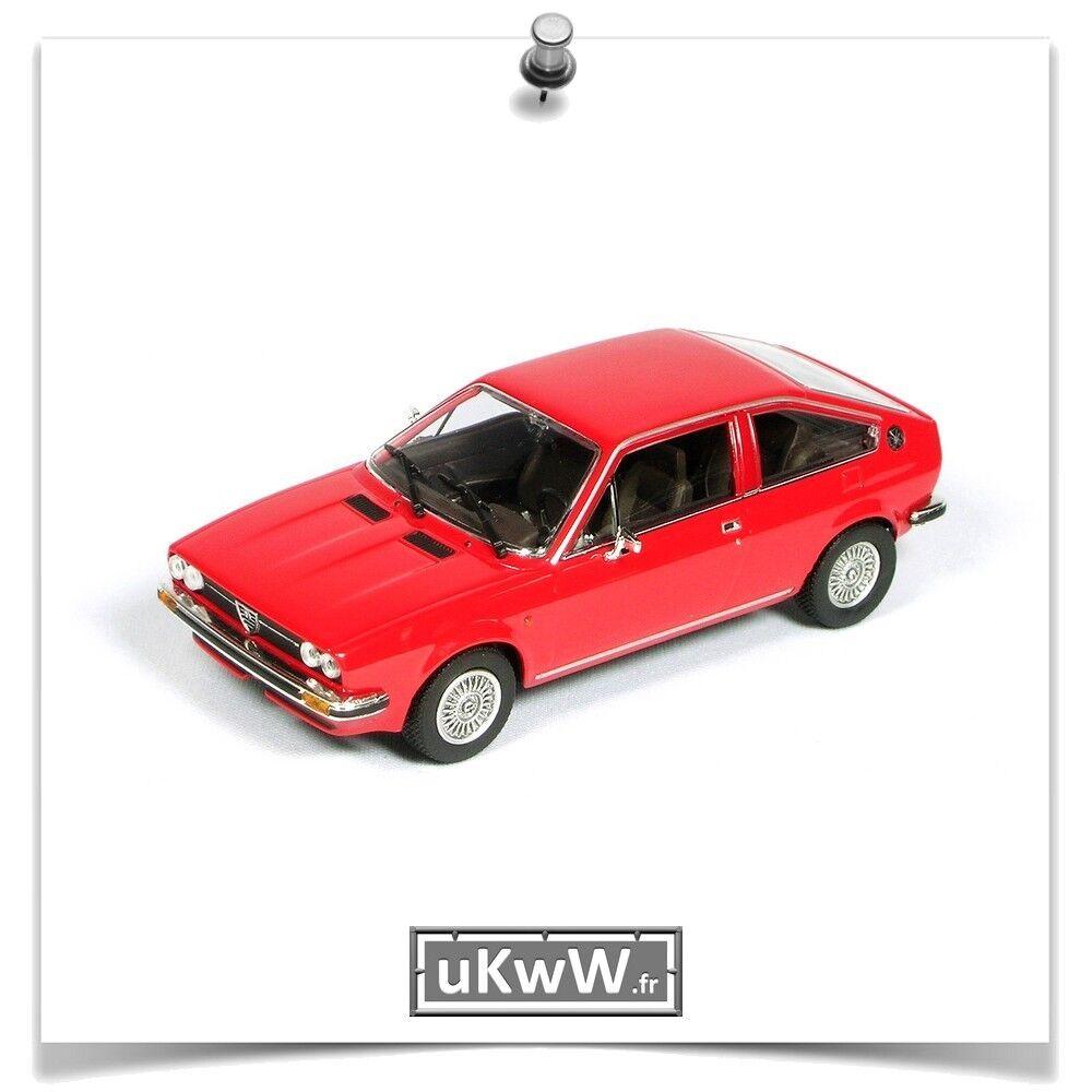 Les récompenses de bonne chance du Nouvel An sont non-stop non-stop non-stop Minichamps 1/43 Alfa Romeo Alfasud Sprint 1976 rouge | Dans Un Style élégant  b5036f