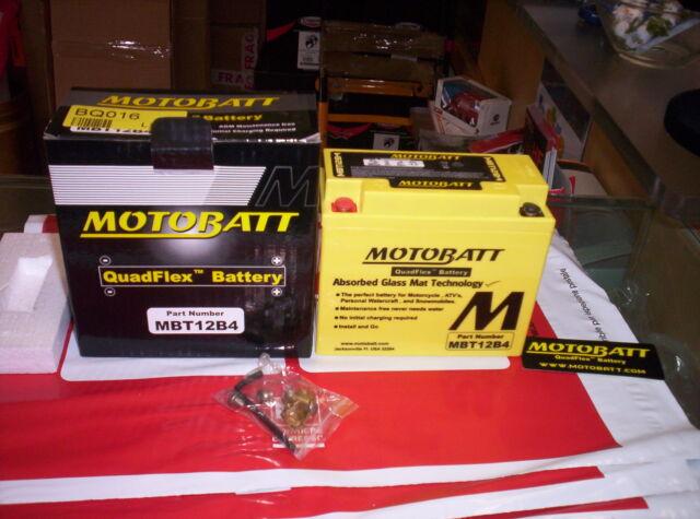 BATTERIA MOTOBATT AGM ERMETICA YT12B BS DUCATI MONSTER 600 00 01 620 02 04 900