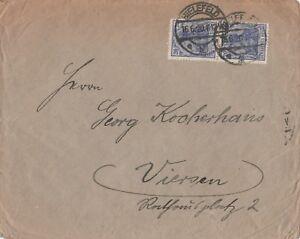 Briefumschlag-verschickt-von-Bielefeld-nach-Viersen-aus-dem-Jahr-1920