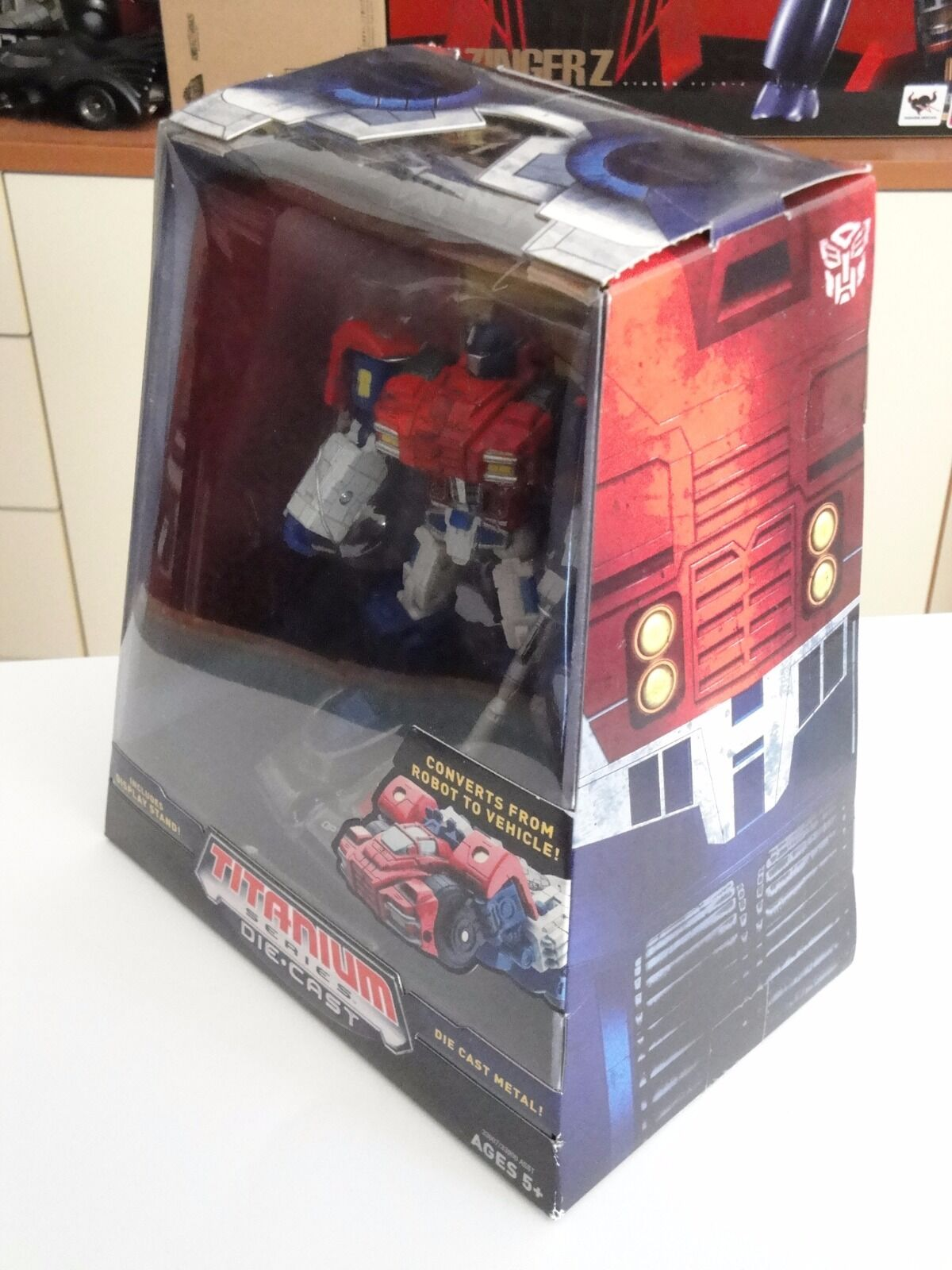 TRANSFORMERS TRANSFORMERS TRANSFORMERS TITANIUM WW OPTIMUS PRIME (WAR WITHIN VER.) by HASBRO DIE-CAST MIB  611e9b