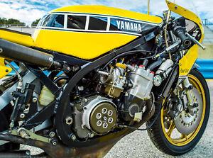 24-034-X-30-034-High-Definition-PHOTOGRAPH-Poster-Kenny-Roberts-1980-Yamaha-Engine