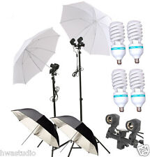 CLKIT18 150W Continuous Lamp Bulb Photography Photo Umbrella light Stand
