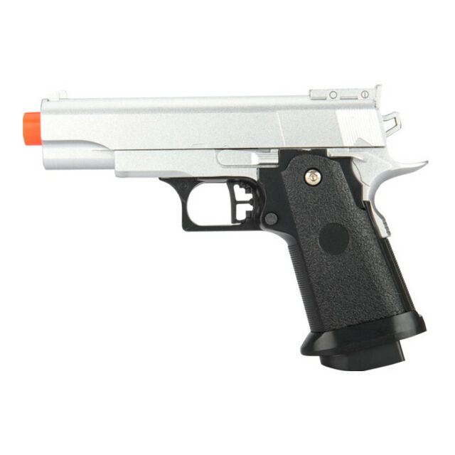 Uk Arms G10s Metal Spring Airsoft Pistol Silver 31907 For Sale Online Ebay