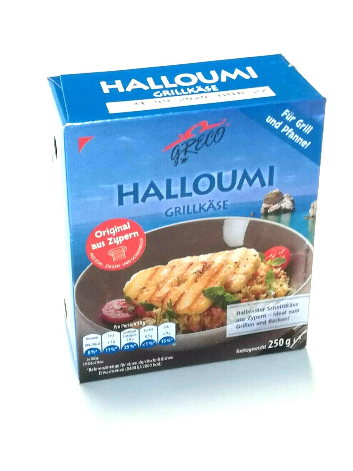 250g Halloumi Grillkäse Kuh Ziegen und Schafsmilch Zypern