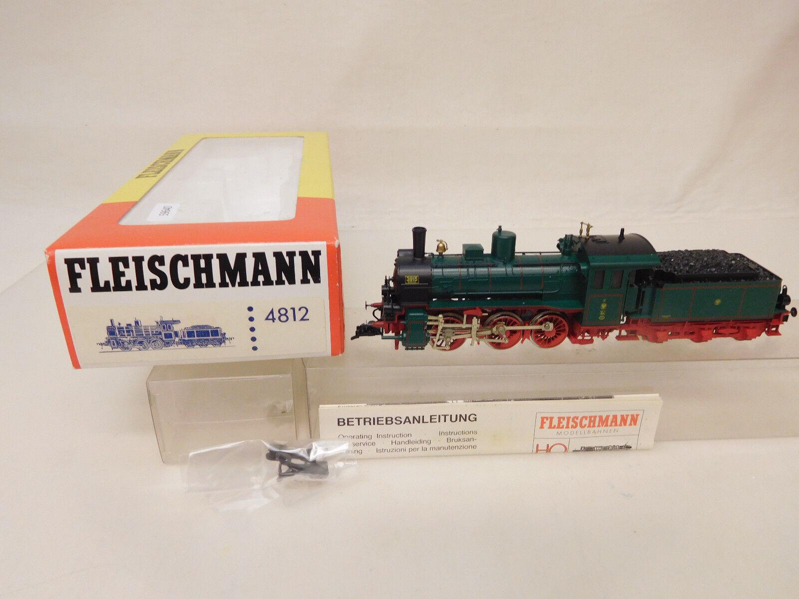 Mes-59640 Fleischmann 4812 h0 Steam Locomotive KPEV g4 very good condition,