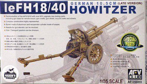 1 35 AFV Club German 10.5 cm Howitzer