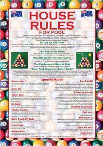 Regeln Pool Billard