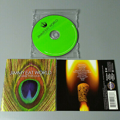 Jimmy Eat World - Chase This Light 2007 USA CD Emo VG ...
