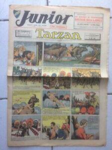 Adroit Junior Le Journal De Tarzan Fascicule N°113 De 1938 État Correct - Gc4