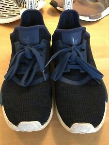 brand new bf52a c6c5e Details about Adidas NMD R1 Mystery Blue Nomad Collegiate Navy Men Size 9