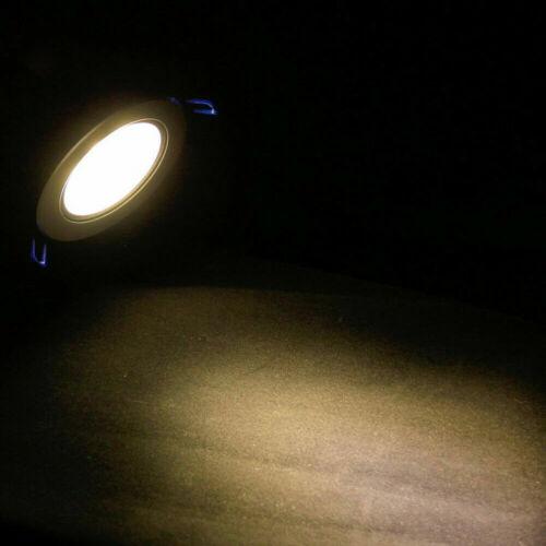 High Power LED COB Einbauleuchten DownLight 3W dimmbar Birne Deckenlampe+Treiber