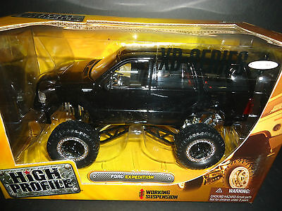 Jada Ford Expedition High Profile Black 1/24 RARE ss1