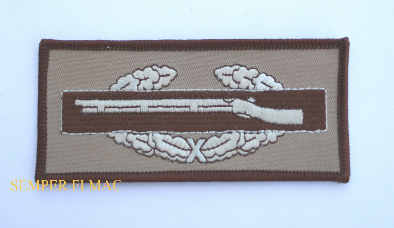 COMBAT INFANTRYMAN BADGE CIB PATCH ARMY INFANTRY GRUNT SF SPECIAL FORCES RIFLE