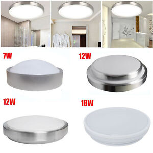 Flush ceiling downlights