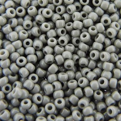 8//0 Japanese Seed Beads Opaque Lt Cream glass Seed beads 28GM