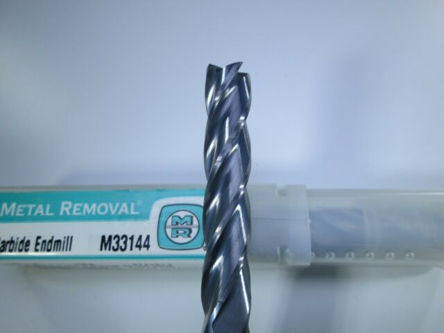 METAL REMOVAL Carbide Square End Mill 2mm 4FL M33812