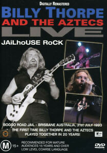 BILLY-THORPE-AND-THE-AZTECS-LIVE-Jailhouse-Rock-REMASTERED-DVD-REGION-0-PAL-NEW