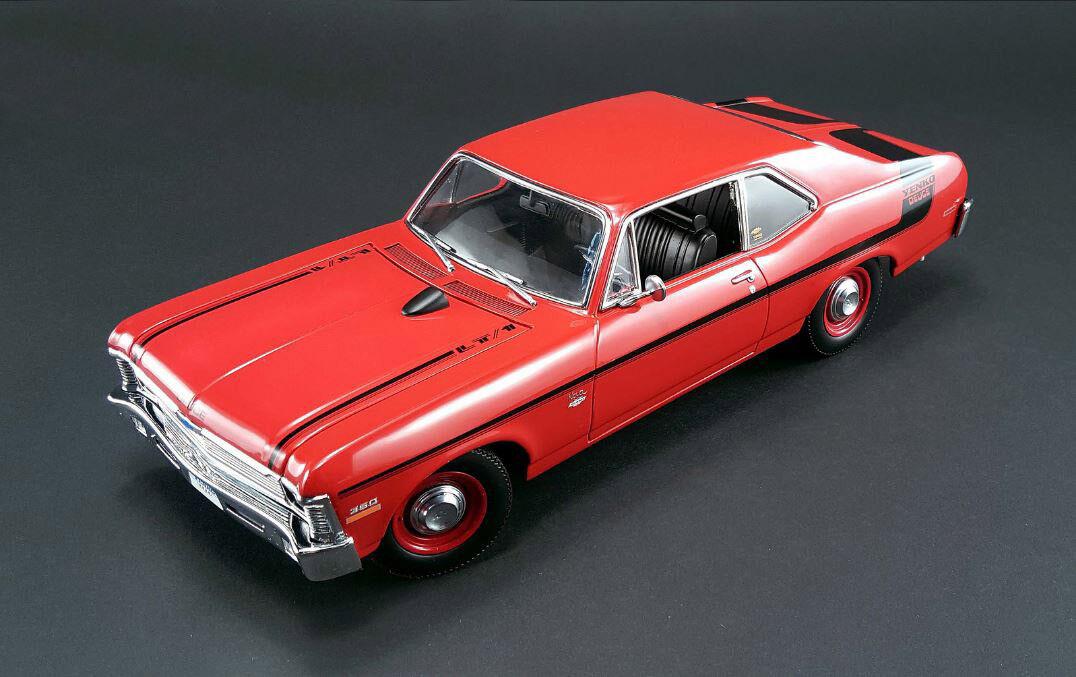 GMP 1970 Chevrolet Nova Yenko Deuce Cranberry rosso 1 18