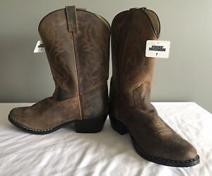 13f0bbc66c9 Details about SMOKY MOUNTAIN BOOTS Women's Denver Western Boots Round Toe  Brown Size 9 NWT