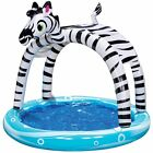 Banzai Shade 'N Sun Zebra Swimming Pool for Kids (38182) 63