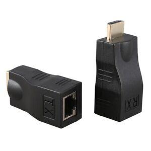 4K 3D MI 1.4 30M Extender zu RJ45 ueber Cat 5e / 6 Netzwerk LAN Ethernet AdA1L8