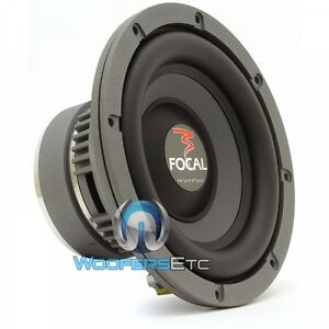 focal 21v2 sub 8 500w car audio 4ohm polyglass subwoofer clean bass speaker new ebay. Black Bedroom Furniture Sets. Home Design Ideas
