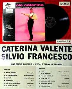 LP-Caterina-Valente-amp-Silvio-Francesco-Ole-Caterina-Decca-DL-8436-US