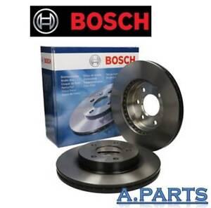 BOSCH-2X-BREMSSCHEIBE-VORDERACHSE-288mm-MERCEDES-C-KLASSE-W204-S204-C204