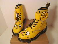 Dr Doc Martens Yellow Jake Adventure Time Bootsmen Size 5woman Size 4