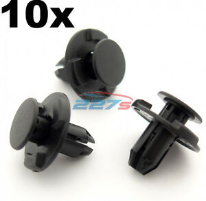 10x-8mm-Hole-Wheel-Arch-Liner-Clips-Plastic-Trim-Clips-for-Inner-Wing-Subaru