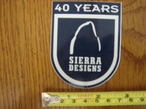 SIERRA DESIGNS Jackets STICKER Decal