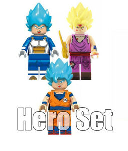 Dragonball Z Fast Shipping! Android 18 Minifigure LEGO Compatible