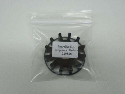 Impeller Kit 229826 for Kohler Pump GM46962 246489 344371 344089 G906 G907 G910P