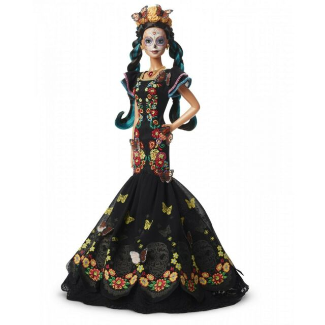 BARBIE DAY OF THE DEAD DOLL DIA DE LOS MUERTOS BARBIE SIGNATURE DOLL IN HAND