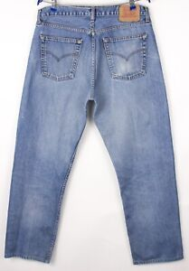 Levi's Strauss & Co Hommes 521 02 Slim Jeans Jambe Droite Taille W38 L30 BCZ254