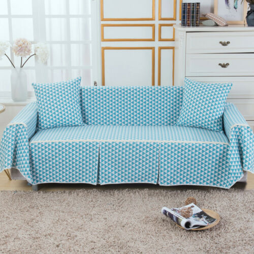 1 2 3 4 Seater Floral Cotton Blend Slipcover Chair Couch Sofa Covers Protector