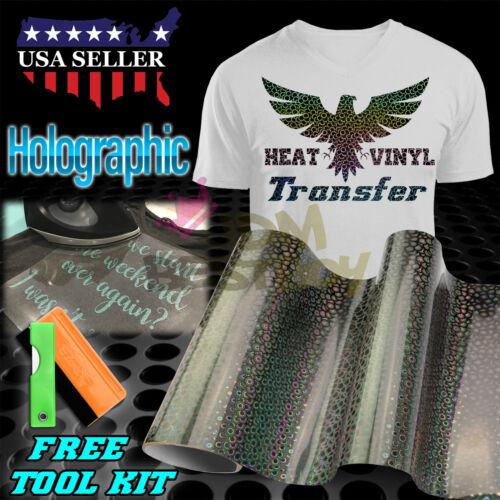 "Effet Spécial Motif Transfert Thermique Vinyle HTV T-shirt 20/"" Iron on Heat Press"