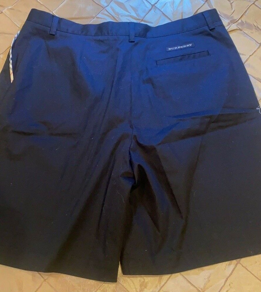BURBERRY GOLF FABULOUS SHORTS TAILORED BLACKWITH … - image 7