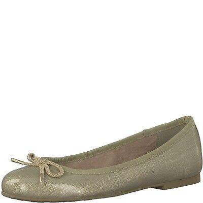 TAMARIS @ Damen Ballerina @ Dirndl Schuhe @ beige Tracht @ nude Lack @ 36 41 | eBay
