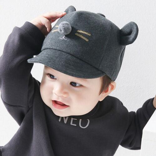 Toddler Kids Baby Boy Girl Casual Baseball Cap Cartoon Summer Snapback Sun Hats