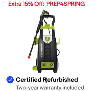 Sun Joe SPX2598-MAX Electric Pressure Washer | 2000 PSI | Foam Cannon
